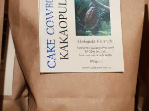 Cake Cowboy Kakaopulver