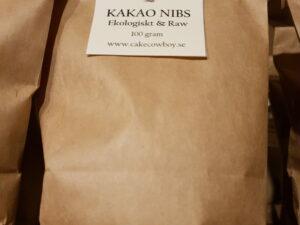 Kakaonibs Criollo Pangoa från Peru